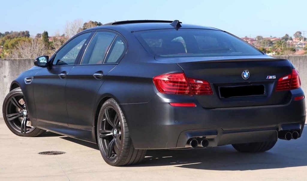 BMW M5 Nighthawk Rear Angle