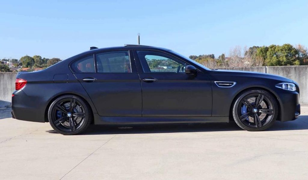 BMW M5 Nighthawk Side Profile