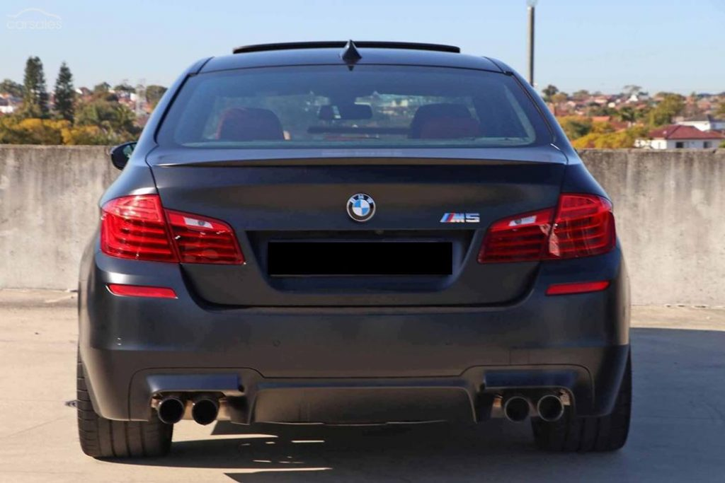 BMW M5 Nighthawk Quad Exhausts