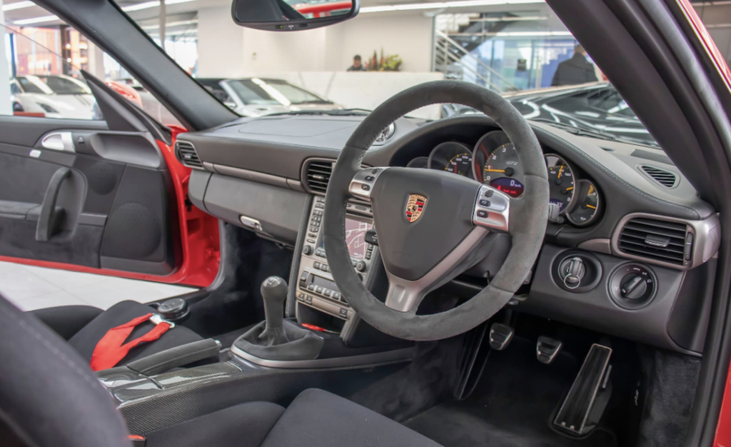 911 GT2 for Sale steering wheel