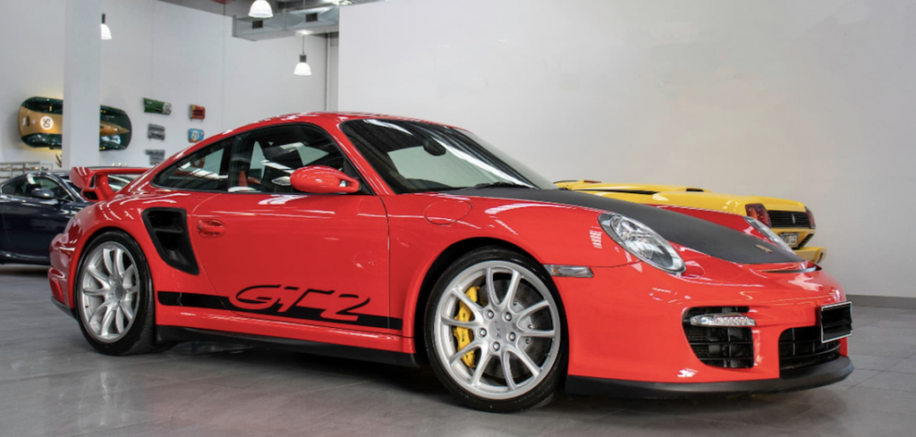 911 GT2 for Sale front right panel
