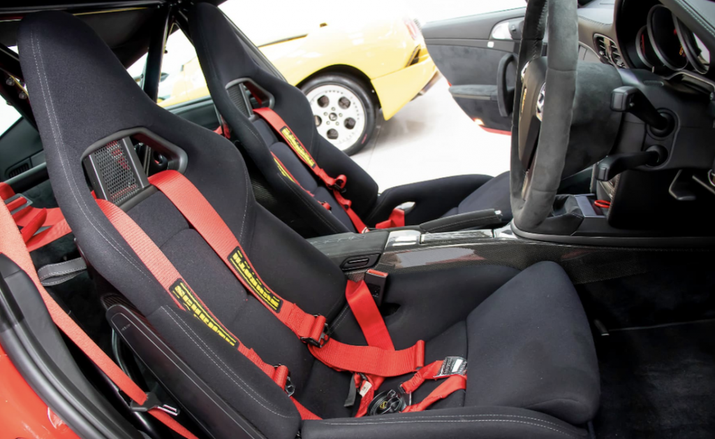 911 GT2 for Sale bucket seats