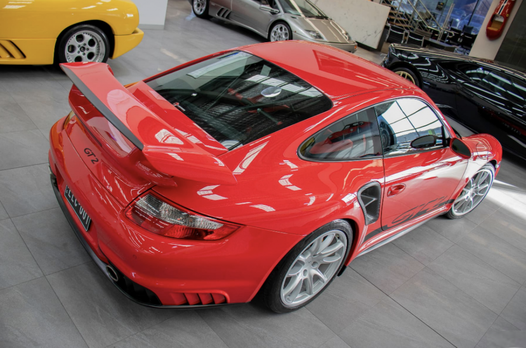 911 GT2 for Sale rear angle