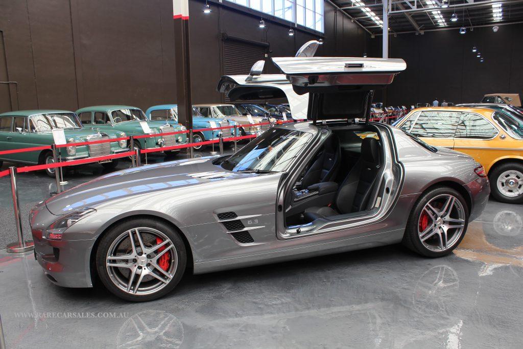 Mercedes SLS 2011 2