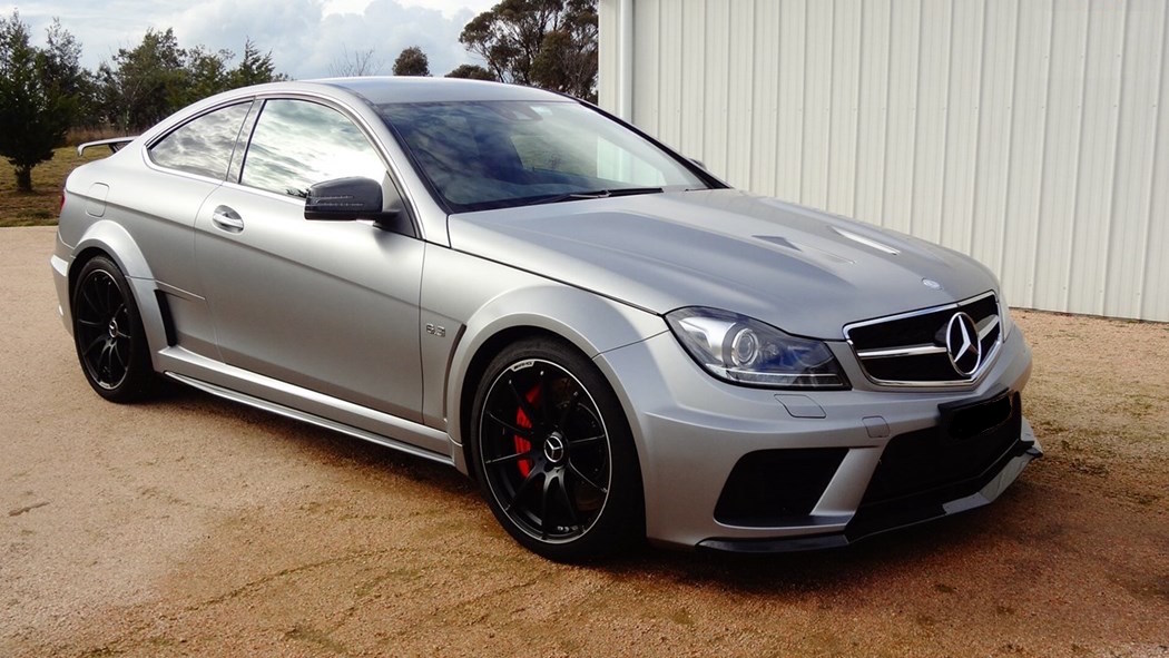 supercharged c63 amg black series for sale rare car sales australia. Black Bedroom Furniture Sets. Home Design Ideas