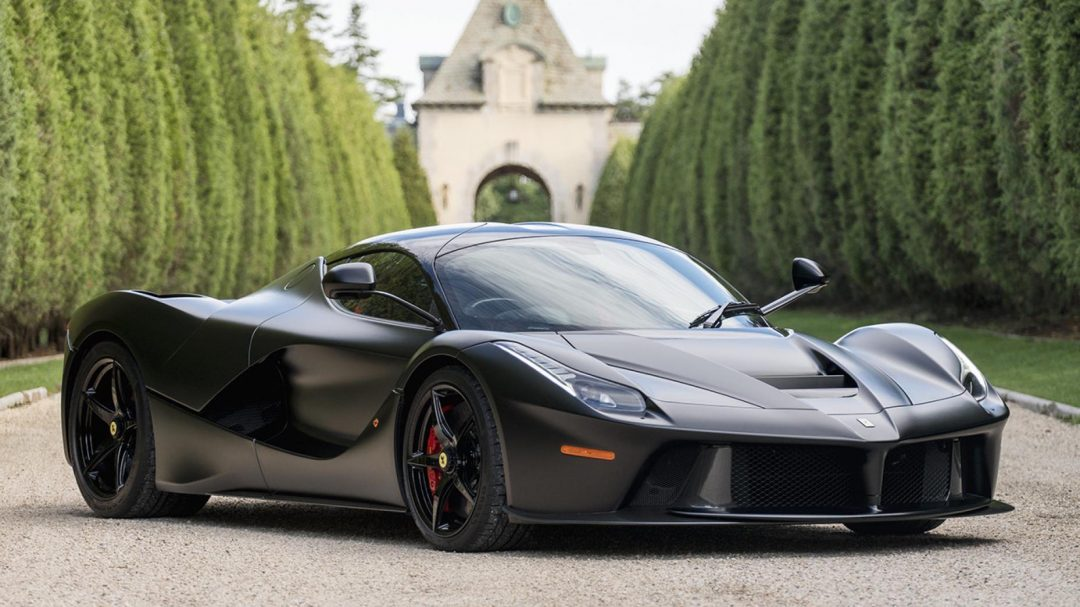 Ferrari LaFerrari Record Sale Price , Rare Car Sales