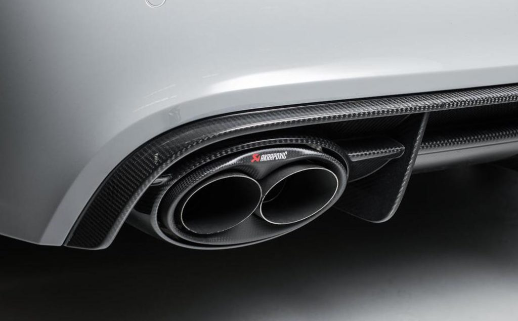 Audi RS6 with Akrapovic Exhaust