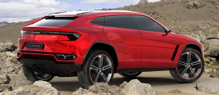 Lamborghini Urus Concept in Red