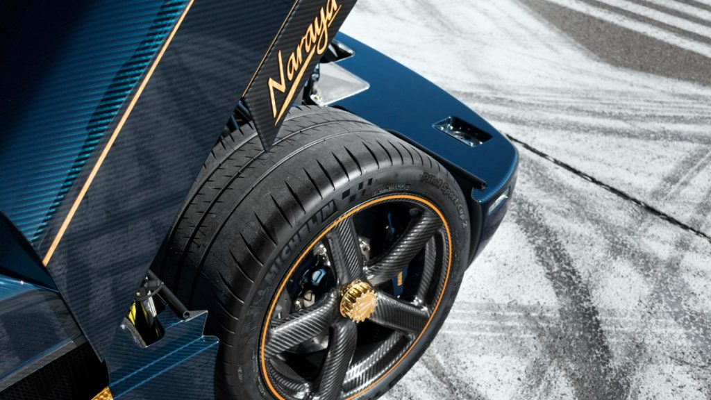 Koenigsegg Agera RS 'Naraya' Carbon Fibre Alloy Wheels