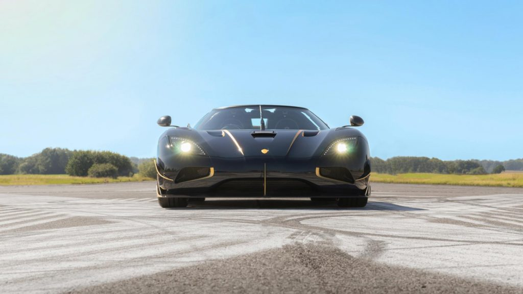 Koenigsegg Agera RS 'Naraya' in Black and Gold