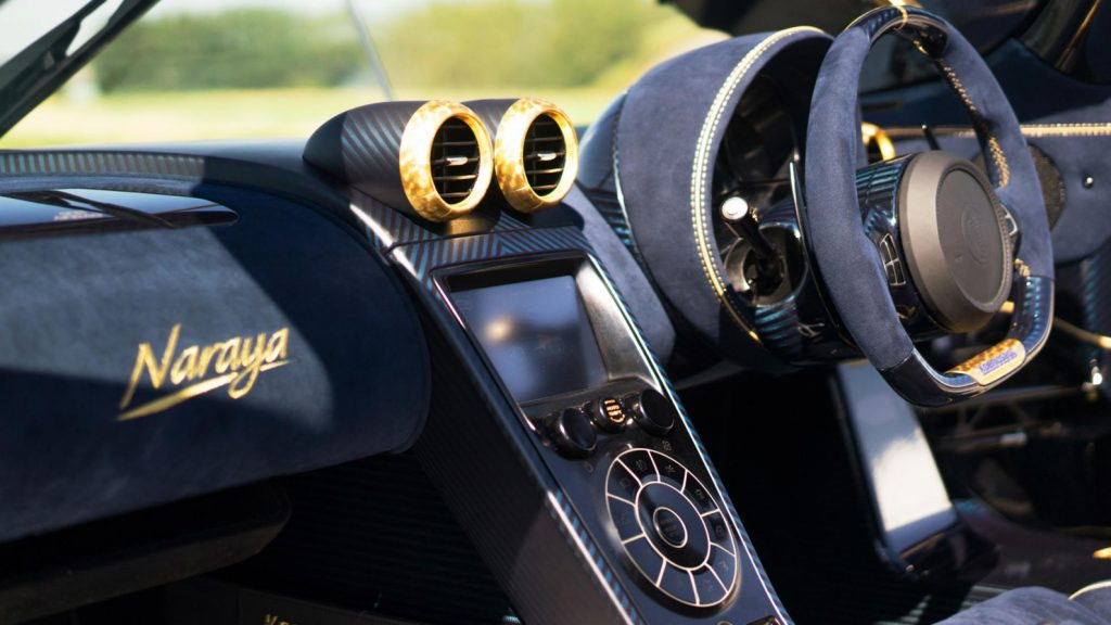 Koenigsegg Agera RS 'Naraya' Interior with Alcantara