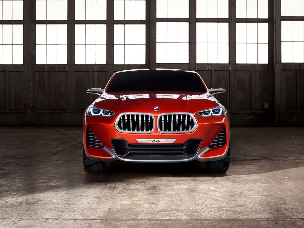 Red 2018 BMW X2 Front Profile