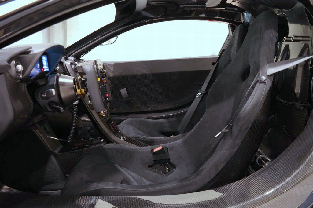 Mclaren P1 GTR alcantara bucket seats