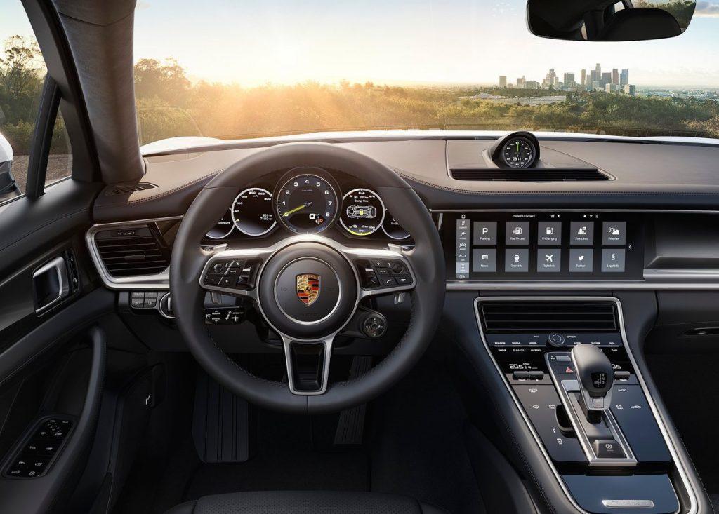 Porshce Panamera E-Hybrid Interior