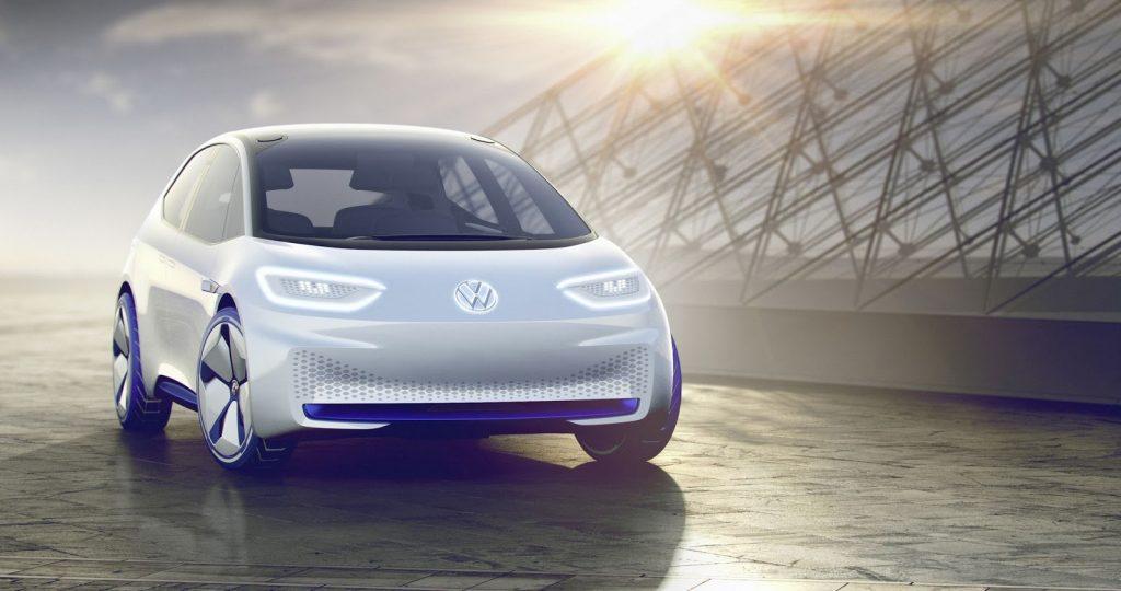 Volkswagen I.D. Concept Electric Car Front