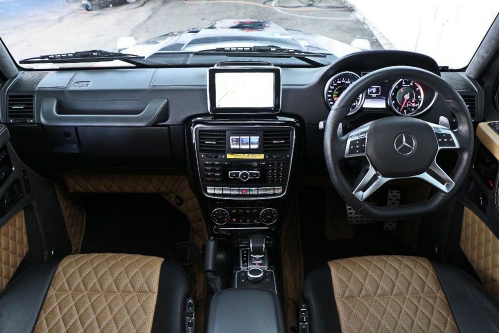Brabus G800 Interior with Mercedes Benz Steering Wheel