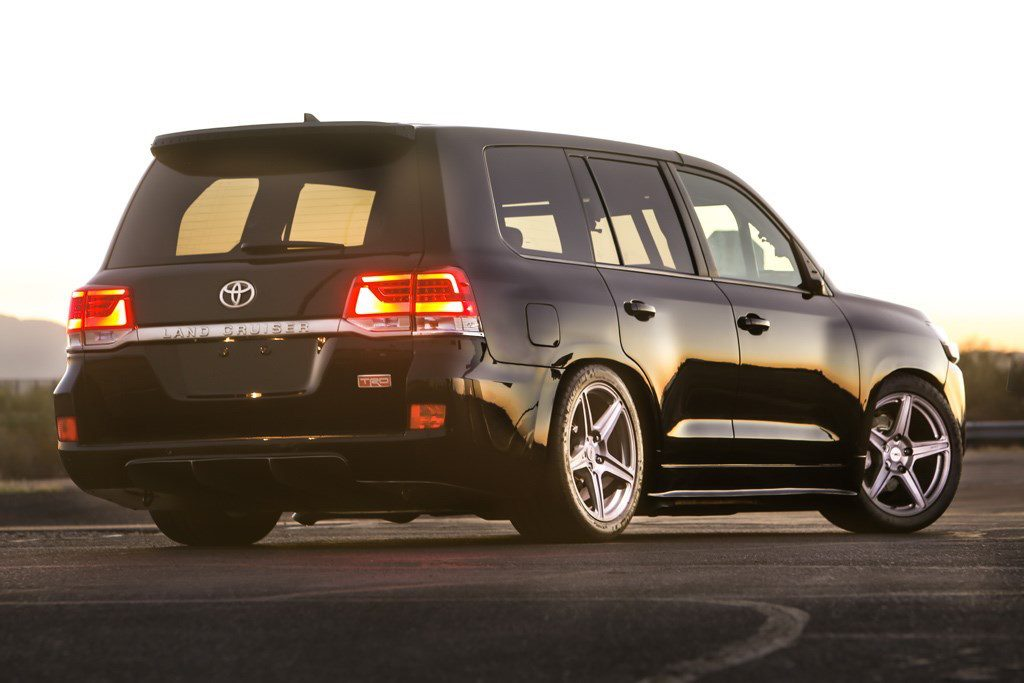Toyota Land Speed Cruiser Rear Angle