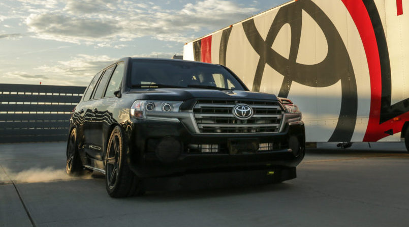 Toyota Land Speed Cruiser Video