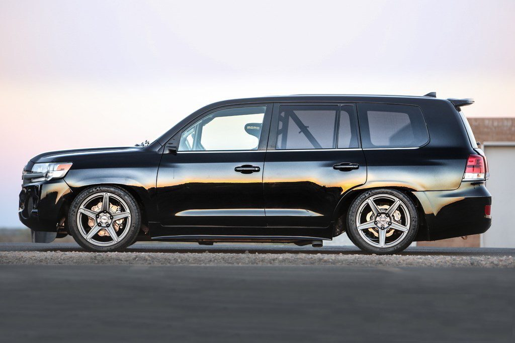 Toyota Land Speed Cruiser Side Profile Photo