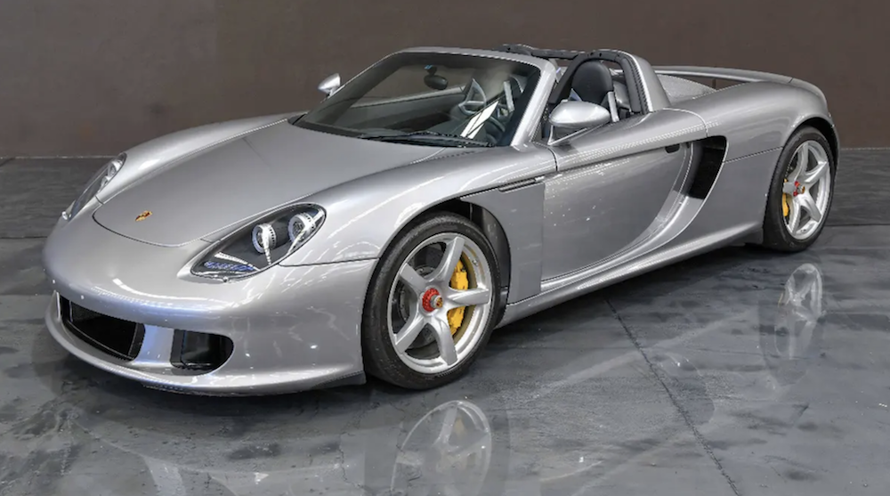 Porsche Carrera GT Side Angle