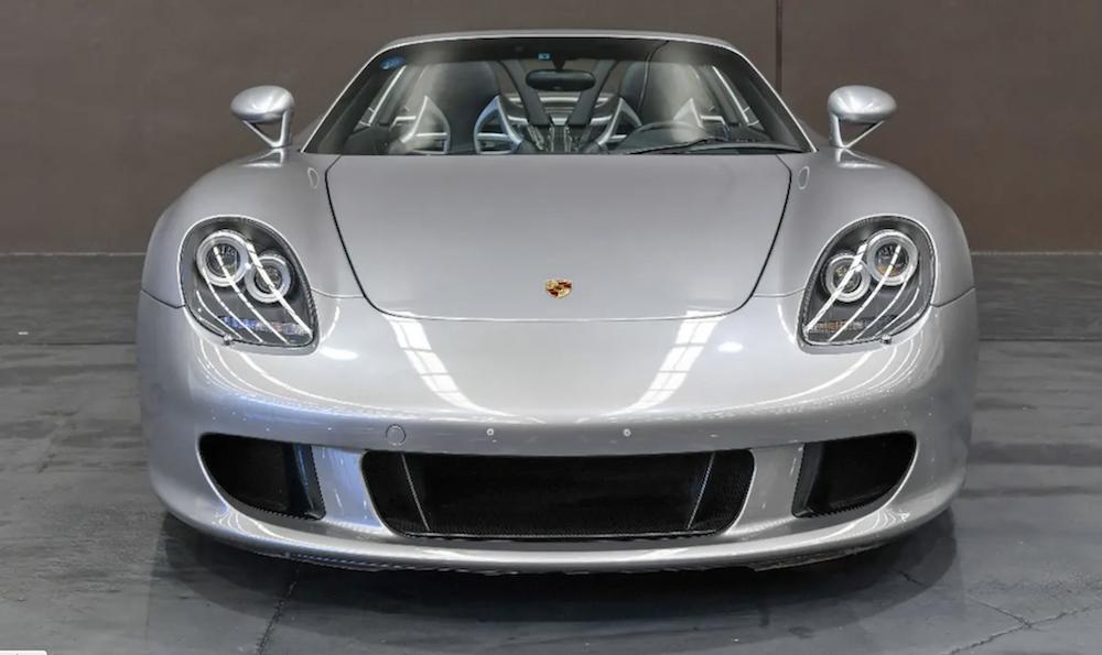 Porsche Carrera GT Front Angle
