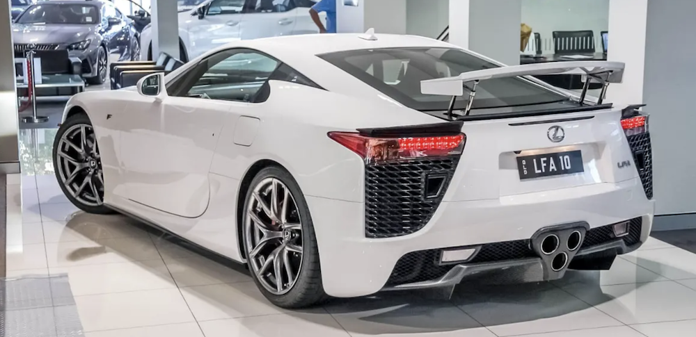 Lexus LFA For Sale in Australia — Rear Shot of Vehicle