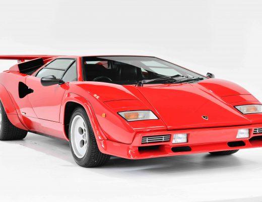 Lamborghini Countach LP5000 QV Red Front Angle
