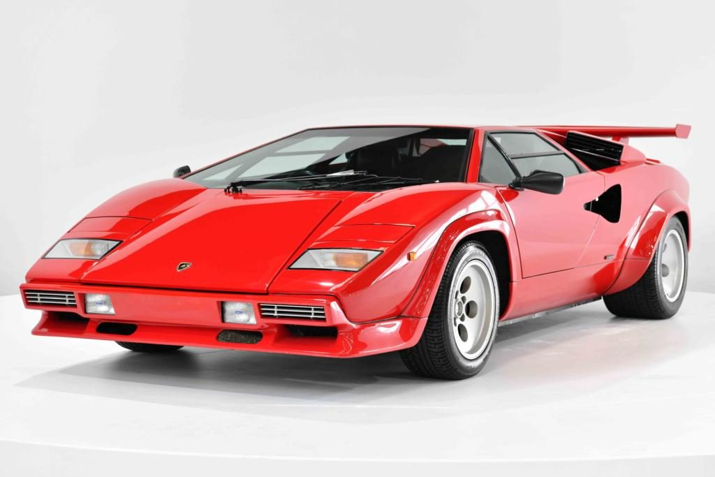 Lamborghini Countach LP5000 QV Front Left Side