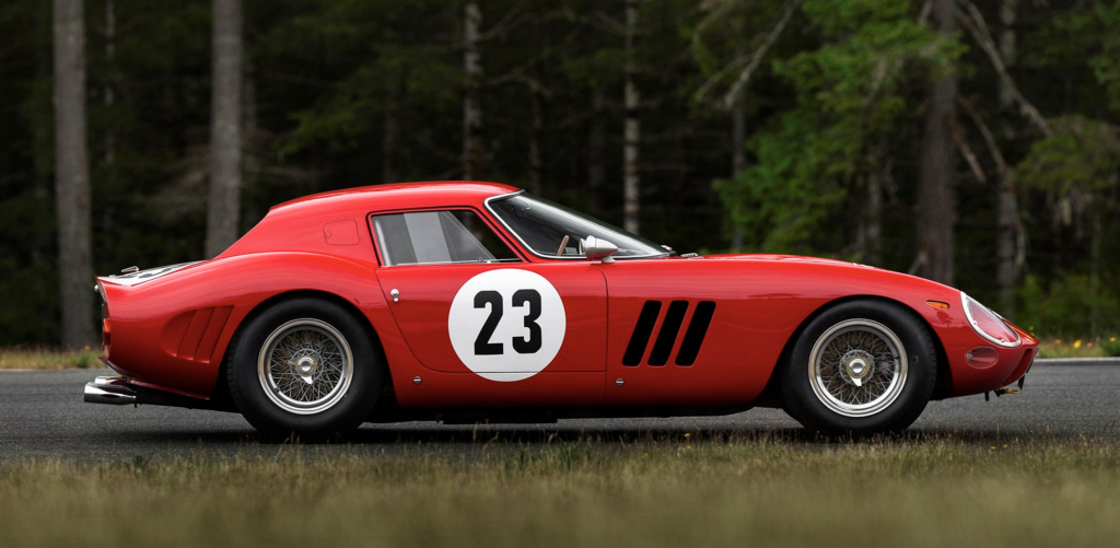 Ferrari 250 GTO Pebble Beach Side Profile