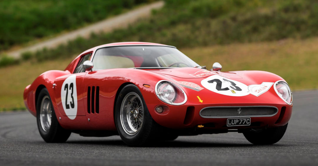Ferrari 250 GTO Pebble Beach Number 23