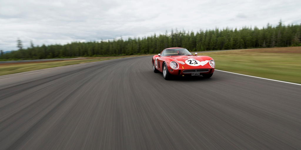 Ferrari 250 GTO Pebble Beach Driving