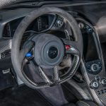 Jensen Button McLaren P1 MSO Paint interior steering wheel