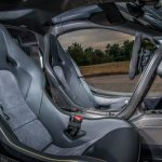 Jensen Button McLaren P1 MSO Paint bucket seats
