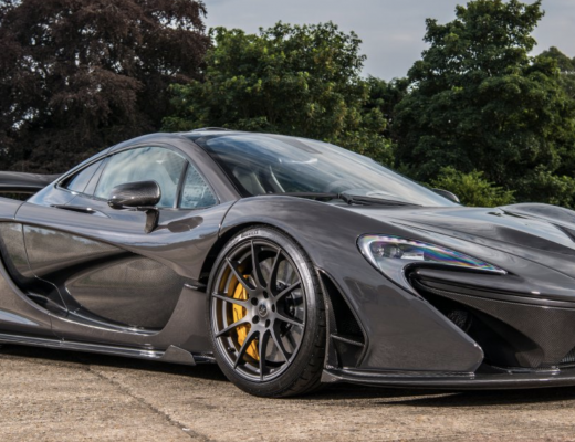 Jensen Button McLaren P1 MSO Paint parked