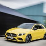 AMG A35 front blurred background