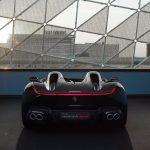 Ferrari SP two seat rear view