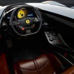 Ferrari SP single seat interior