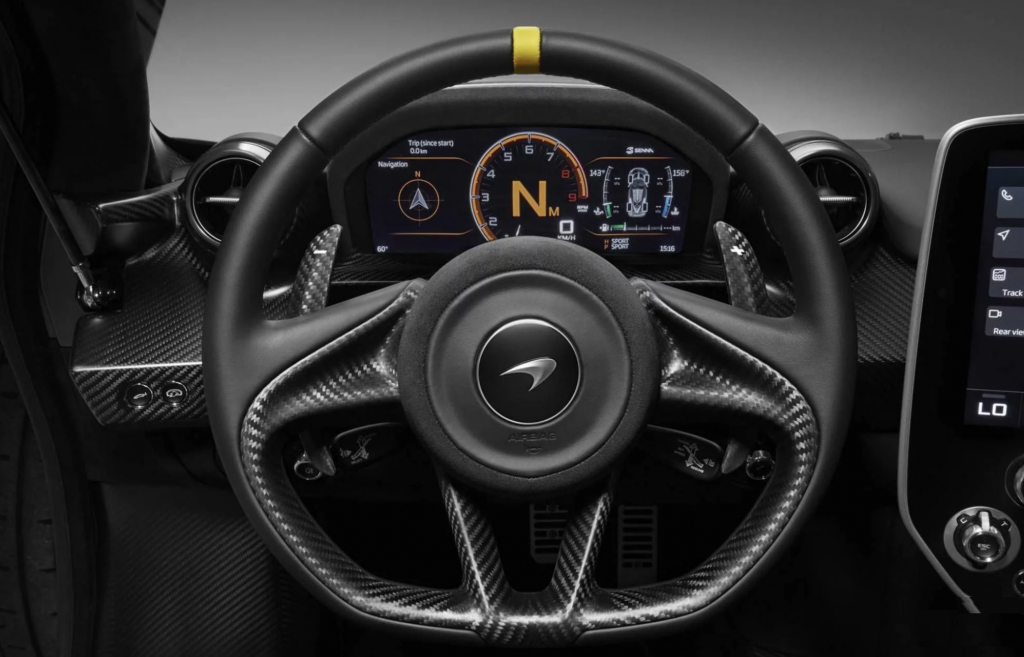 McLaren Senna Steering Wheel