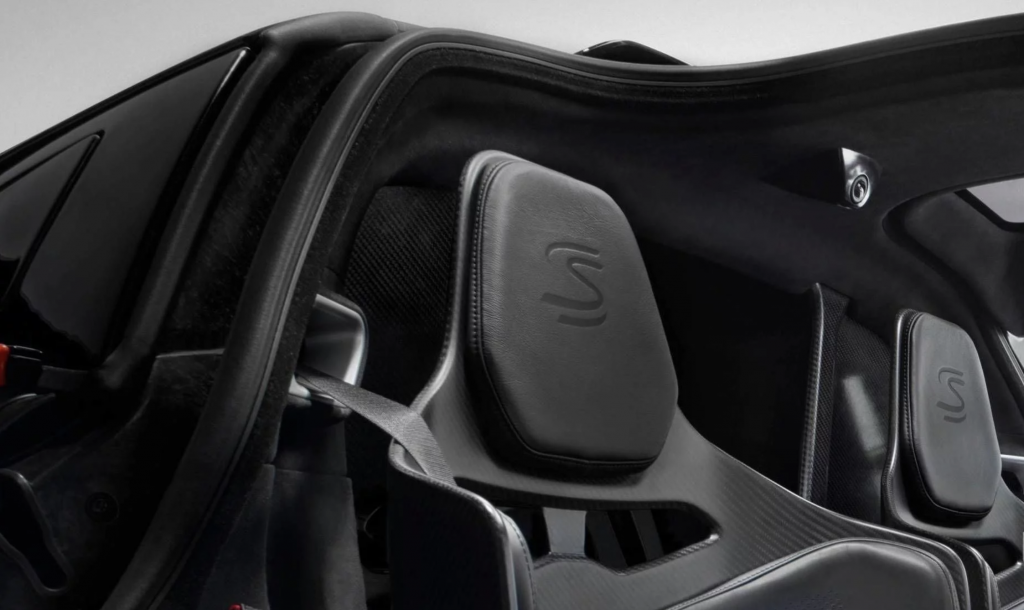 McLaren Senna headrest