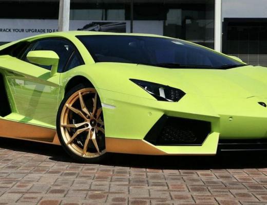 Lamborghini Aventador Miura Homage front angle