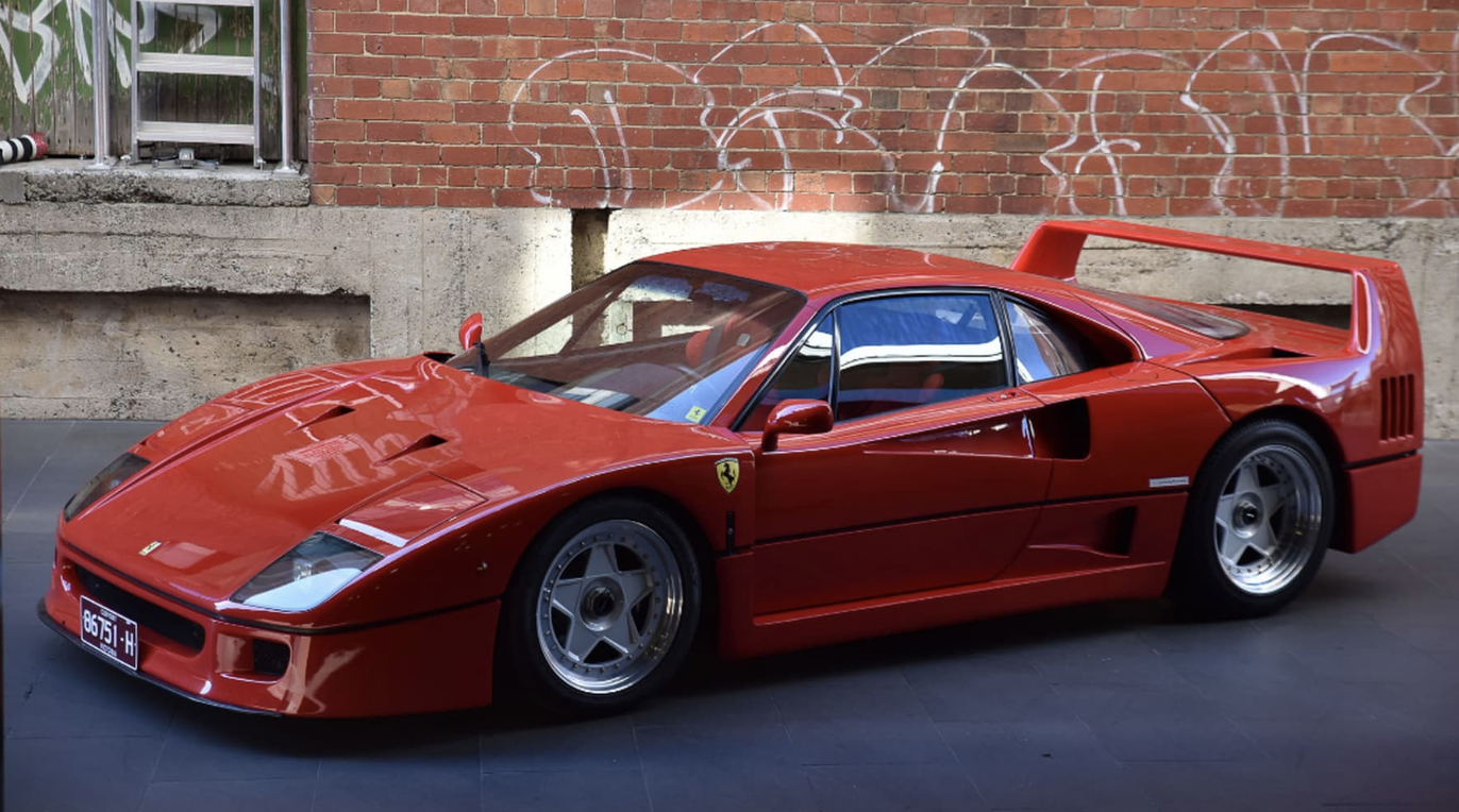 ferrari f40 for sale australia - rare car sales | classic, rare