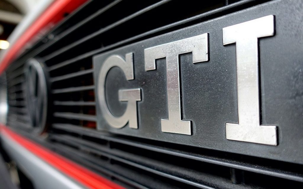 Golf GTI Mk1 Bade Up Close