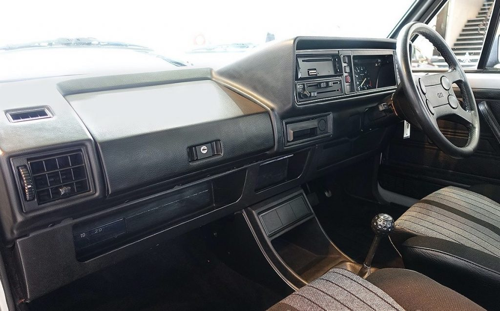 Golf GTI Mk1 Interior and Seats