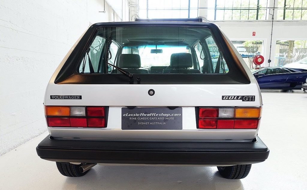 Golf GTI Mk1 Rear