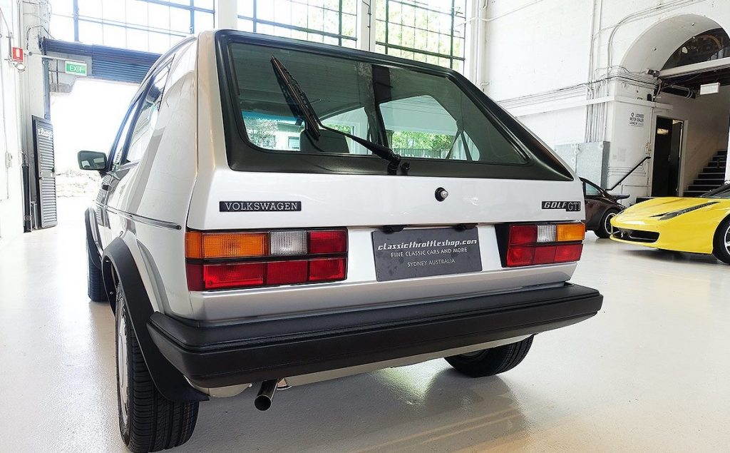 Golf GTI Mk1 Rear End