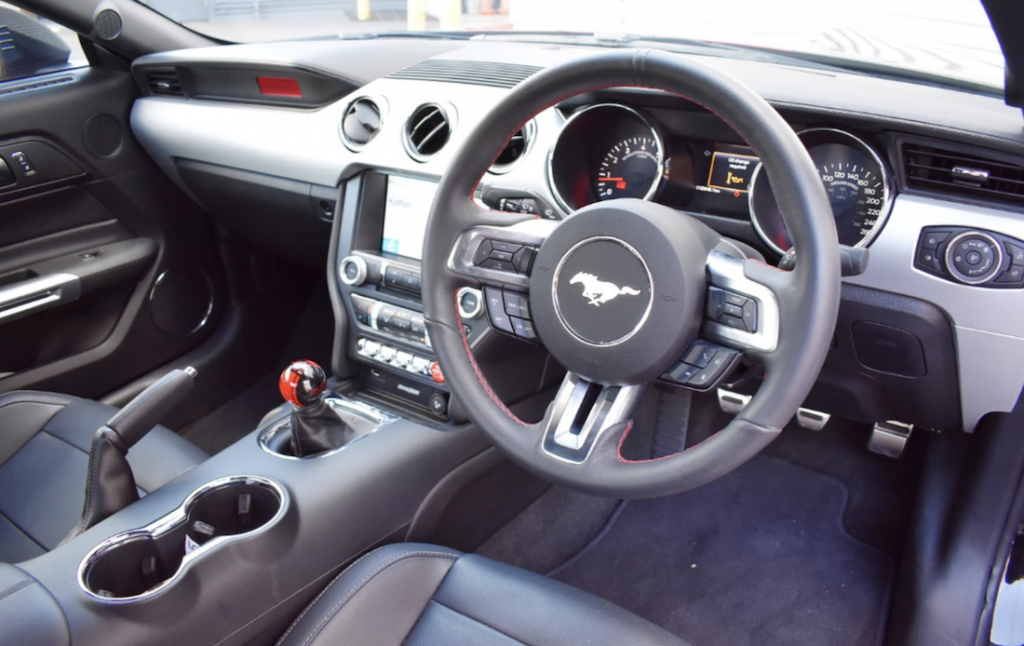 900HP Ford Mustang interior