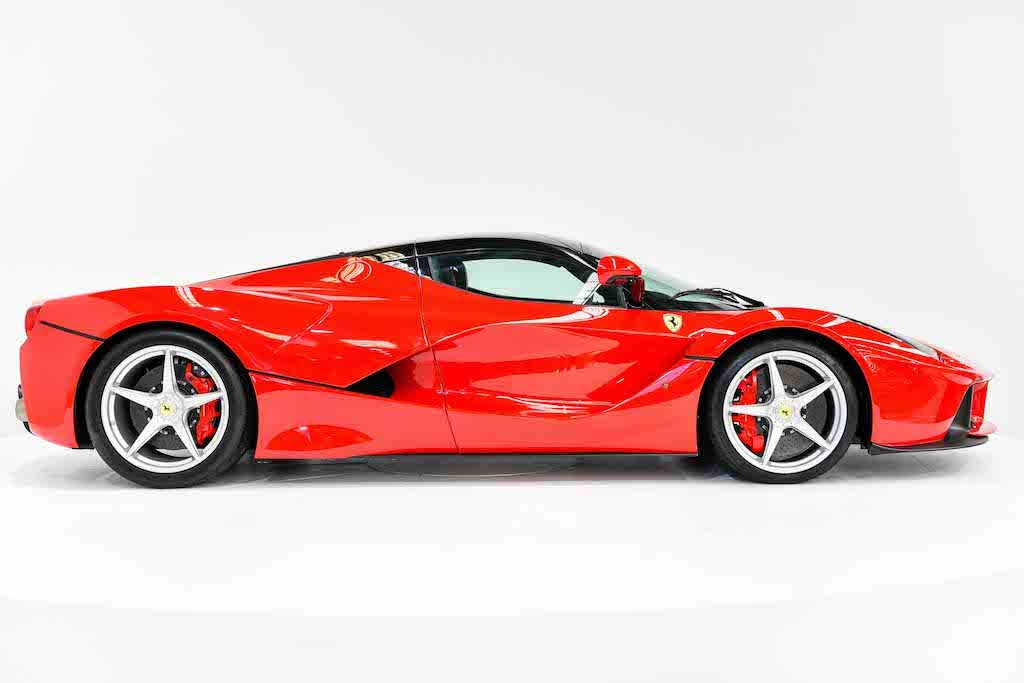 Ferrari LaFerrari for sale side view