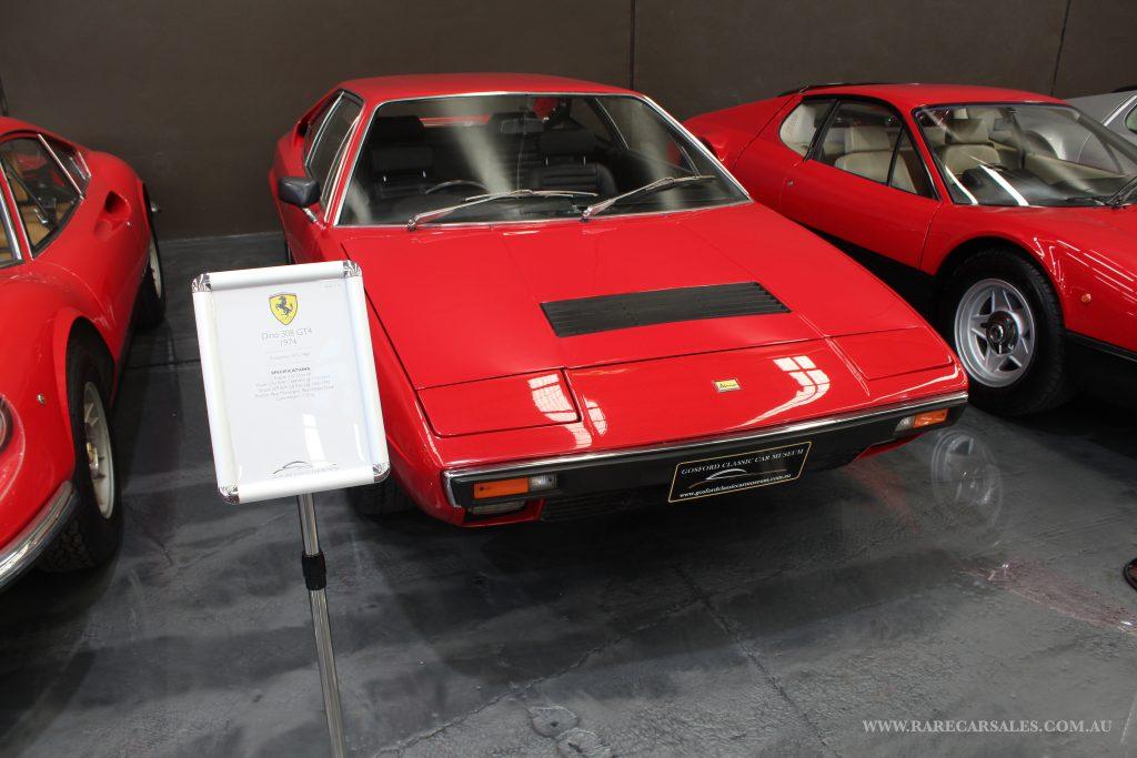 1974 dino 308 gt4