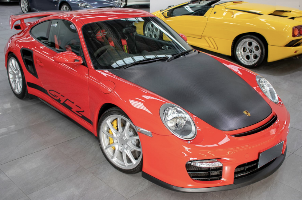 911 GT2 for Sale front top angle