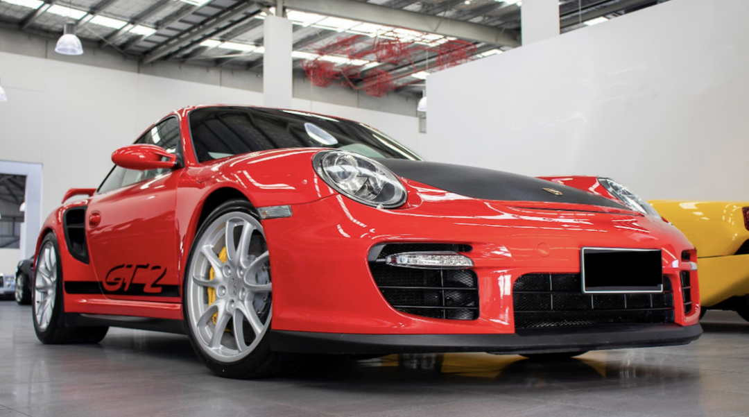 911 GT2 for Sale front angle